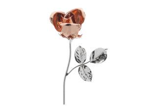 Rosa 11 cm bocciolo rosè