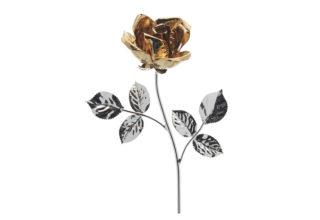 Rosa 14 cm bocciolo oro